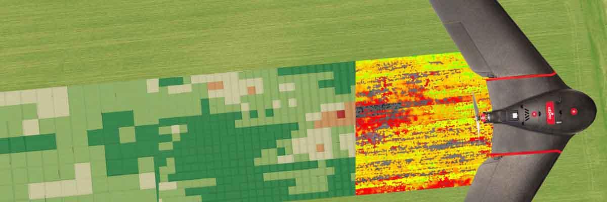 drones para inspección industrial, fotogrametría y ortofotografía