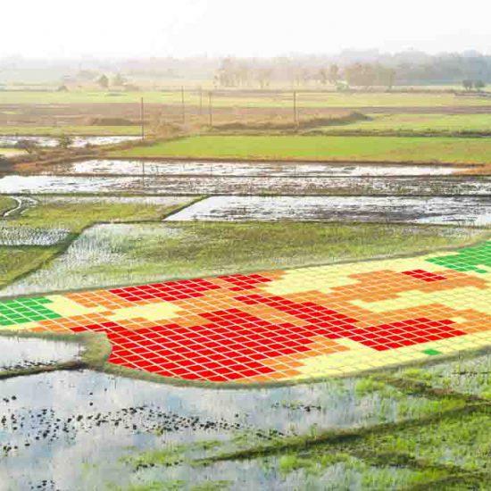 drones para agricultura de precisión para el análisis de cultivos