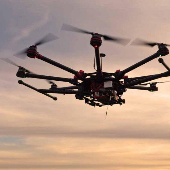 reparación de drones y renta de equipo de filmación