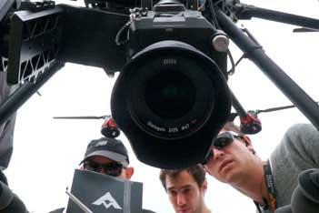 drones para producción audiovisual, video y fotografía aérea