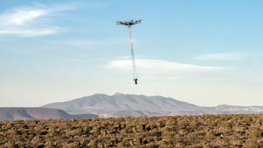 Magnetometría aérea con drones