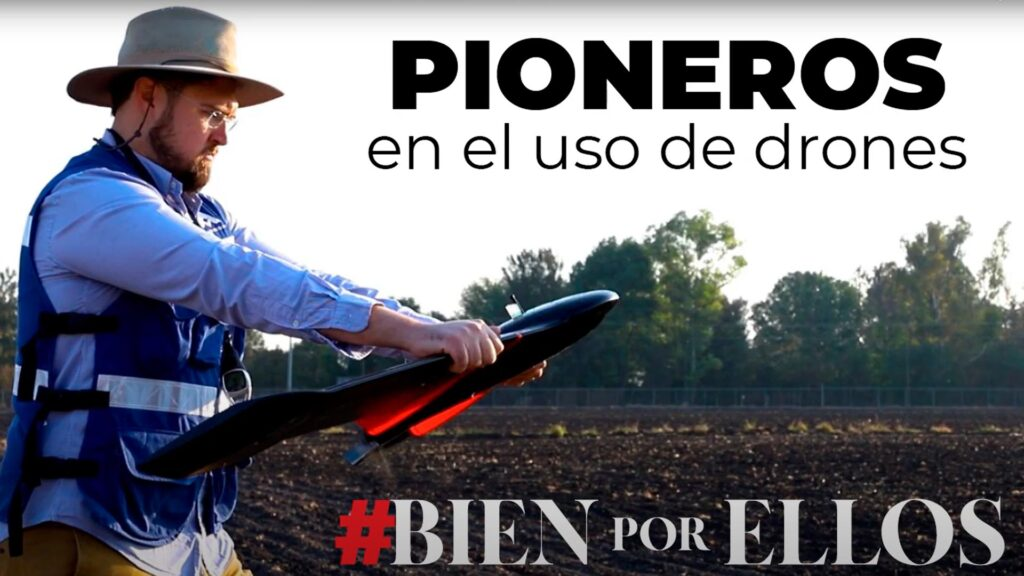 Pioneros en el uso de drones | AV3 AEROVISUAL en #BIENporELLOS